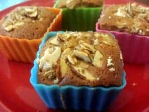 Banana Maple-Nut Muffins. Probably the best muffins you'll ever eat! [from GlutenFreeEasily.com]