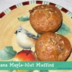 Banana Maple-Nut Muffins