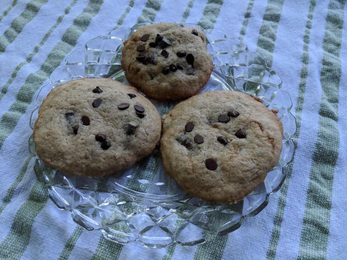 Gluten-Free Banana Chocolate Chip Cookies. [from GlutenFreeEasily.com]