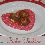 How to make Homemade Gluten-Free Turtles. Rolo Turtles. Just three ingredients create these ooey gooey treats that give you chewiness, chocolate, plus sweet and salty! Make in 2 mins. [From GlutenFreeEasily.com]