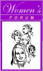 women's forum, Fredericksburg, James Monroe High School