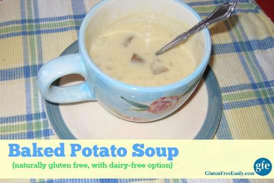 Gluten-Free Baked Potato Soup