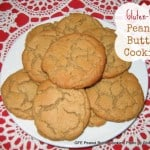 These Flourless Peanut Butter Cookies are naturally gluten free. They have the perfect cookie texture and rich peanut butter flavor. Quick and easy to make too! [from GlutenFreeEasily.com]