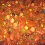 Vegetarian Chili (aka That Chili with the Mushrooms)