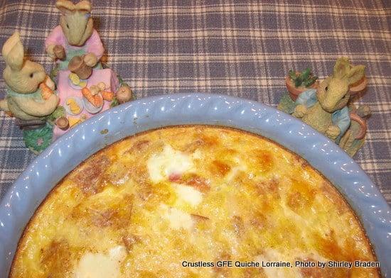 Gluten-Free Crustless Quiche at Gluten Free Easily