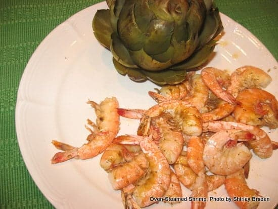Oven-Steamed Shrimp (Naturally Gluten Free)