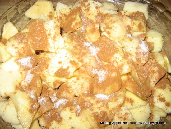 Chopped Apples Gluten-Free Crustless Apple Pie Gluten Free Easily