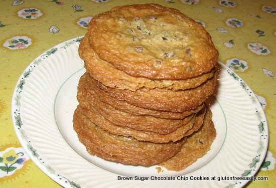 Brown Sugar Chocolate Chip Cookies 067