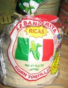 gluten-free tortilla soup, gluten free, dairy free, vegetarian or vegan option