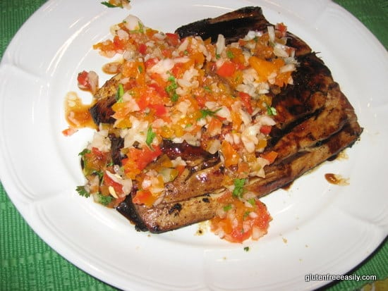 Mahi with Pico de Gallo