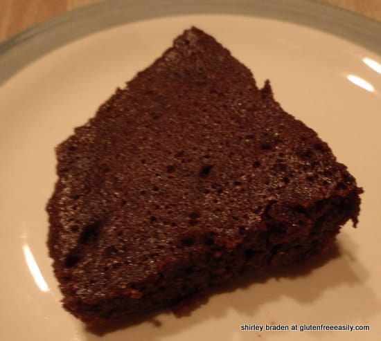 Original 3-Minute Gluten-Free Chocolate Cake