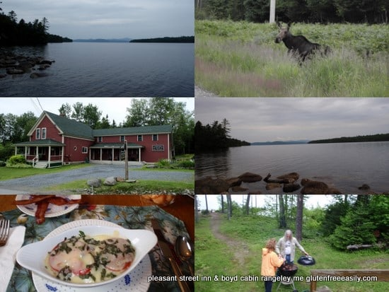 Rangeley ME Collage