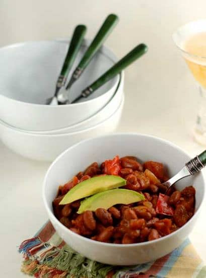 bean and veggie chili-1