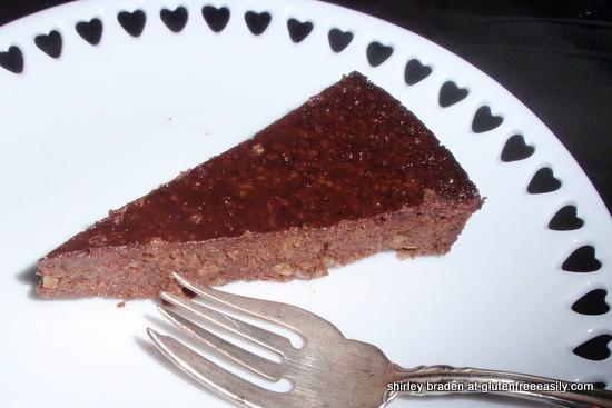 Flourless Chocolate Banana Honey Walnut Cake Gluten Free Easily
