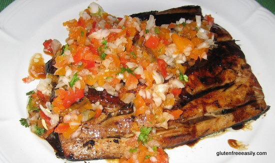 GingerGlazed Mahi Mahi with Pico de Gallo. When pan grilled and topped with this easy-to-make, delicious-to-eat sweet and gingery glaze and pico de gallo, mahi mahi is perfection! (photo)