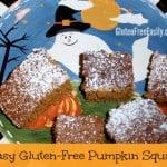 Easy Pumpkin Squares