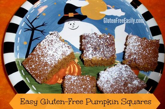 Easy Gluten-Free Pumpkin Squares