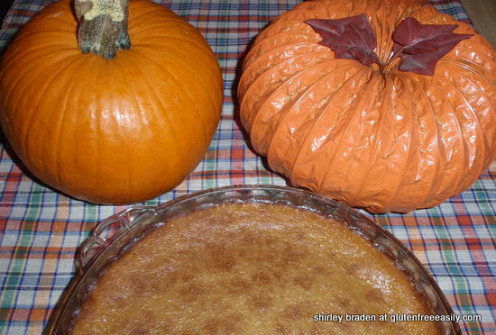 Crustless Gluten-Free Pumpkin Pie. It's the very best! So easy, too. [from GlutenFreeEasily.com]