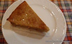 crustless, pumpkin, pie, gluten free, Shirley Braden, gfe