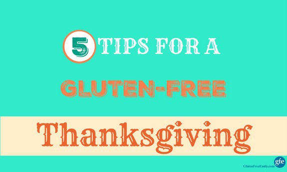 5 Tips for a Gluten-Free Thanksgiving