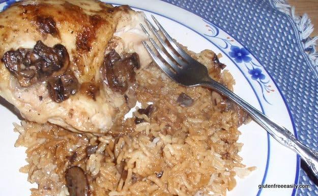 Chicken and Rice Casserole--Uncondensed
