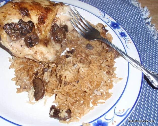 Gluten-Free Chicken and Rice asserole