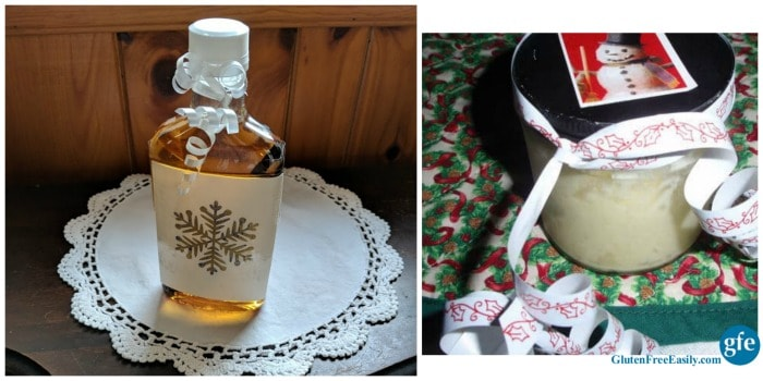 Homemade Vanilla Extract and Honey Butter. Two fantastic, easy-to-make holiday food gifts. [from GlutenFreeEasily.com]