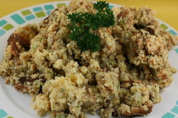Slow Cooker Gluten-Free Cornbread Dressing. From A Year of Slow Cooking. Free up your oven by using your slow cooker!