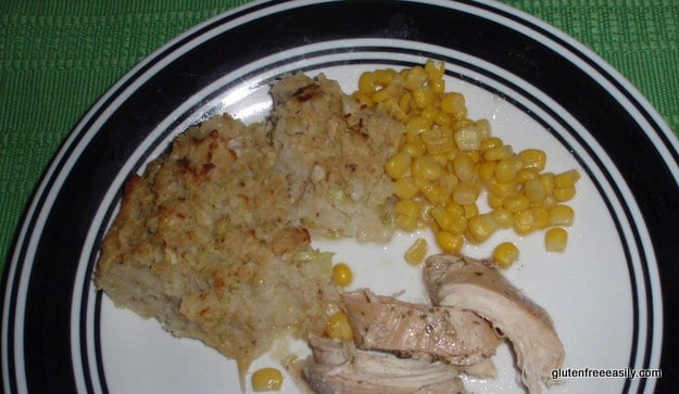 Surprise Gluten-Free Stuffing and Special Turkey Breast