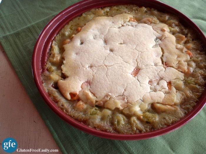 Gluten-Free Chicken or Turkey Pot Pie with Vegan Option