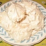Naturally Gluten-Free Coconut Meringues. Think of these as almost little individual version of coconut pie. For real. So easy to make, so good. [from GlutenFreeEasily.com] (photo)
