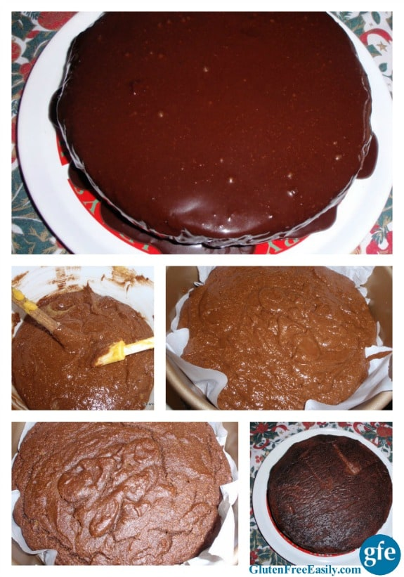 Double Chocolate Clementine Cake Collage Gluten Free Easily