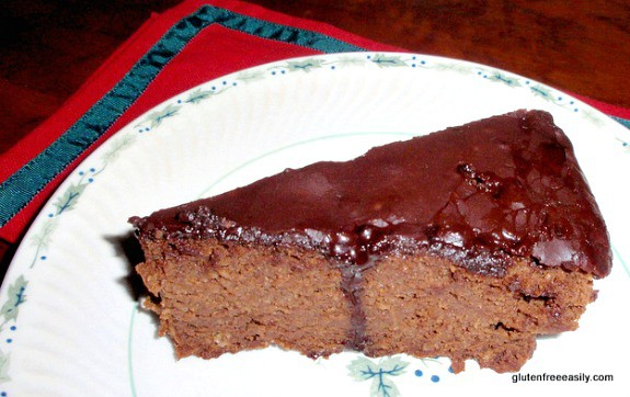 Double Chocolate Clementine Cake Slice Gluten Free Easily