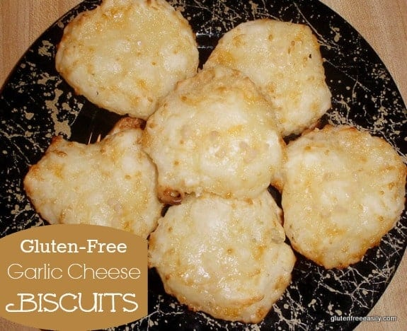 Gluten-Free Homemade Red Lobster Garlic Cheese Biscuits Photo. Hot of the oven, these biscuits are heavenly!