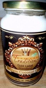 coconut oil, Tropical Traditions, virgin coconut oil