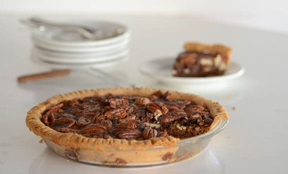 Paleo Chocolate Pecan Pie from Elana's Pantry.