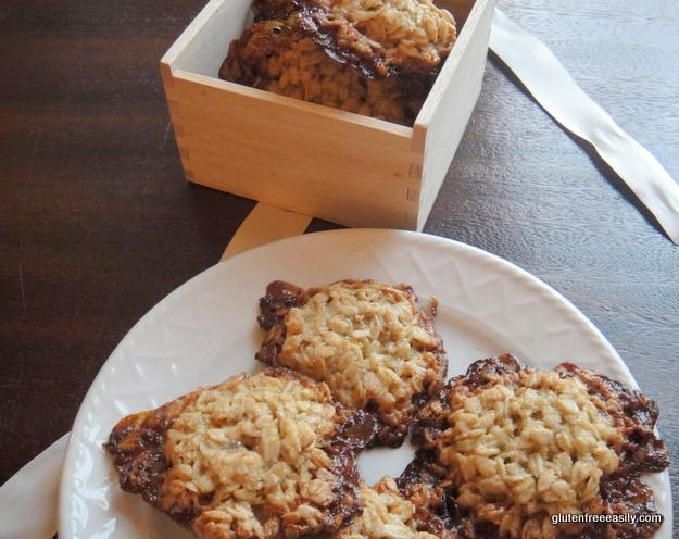 oatmeal cookies, flourless, gluten free, dessert, treat, certified gluten-free oats, cross contamination