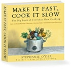Stephanie O'Dea, More Make It Fast, Cook It Slow, slow cooker, crockpot, cookbook review, cookbook giveaway, gluten free
