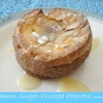 Cinnamon-Sugar-Crusted Almond Popovers