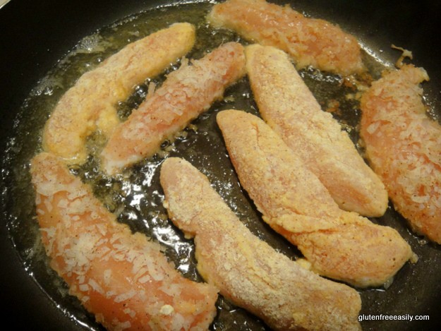 Frying Gluten-Free Chicken Tenders (Cornmeal-Crusted Tenders and Coconut-Crusted Tenders)