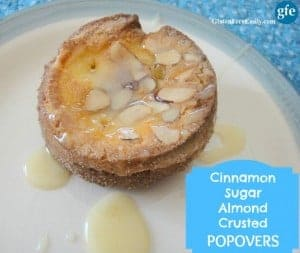 Gluten-Free Cinnamon Sugar Almond Crusted Popovers Gluten Free Easily