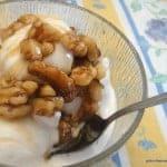 Maple-Nut Ice Cream Sundae
