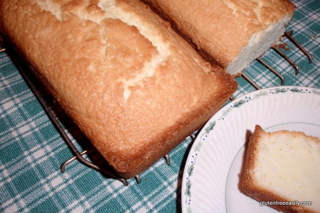 Perfect Gluten-Free Pound Cake. It really is! The gluten-free and gluten-full folks both rave over this recipe! [from GlutenFreeEasily.com]