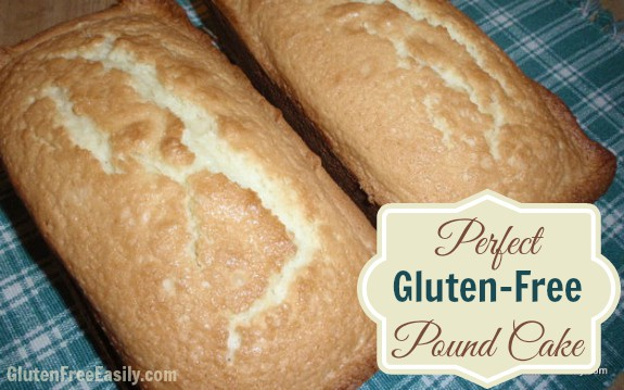 Perfect Gluten-Free Pound Cake. I don't use the word