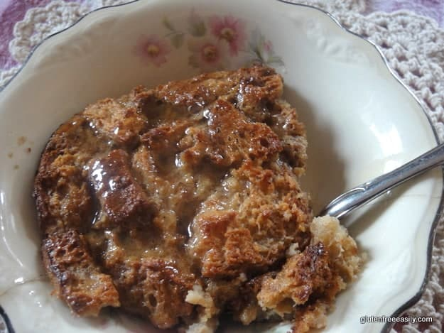 gluten free, bread pudding, gluten free easily