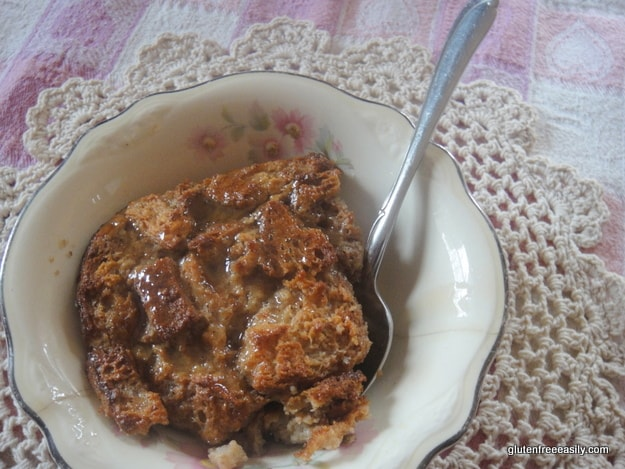 Gluten-Free Old-Fashioned Bread Pudding [from GlutenFreeEasily.com]
