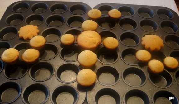 These Honey-Sweetened Gluten-Free Corn Muffins make for the Best Gluten-Free Corn Muffins ever! (photo) From GlutenFreeEasily.com.