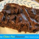 Healthy Flourless Brownies