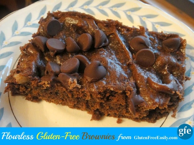 Flourless Brownies ... Gluten-Free and Paleo [from GlutenFreeEasily.com]