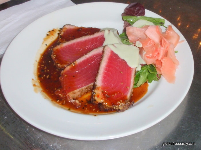 Gluten-Free Key West Trip Report Ahi Tuna